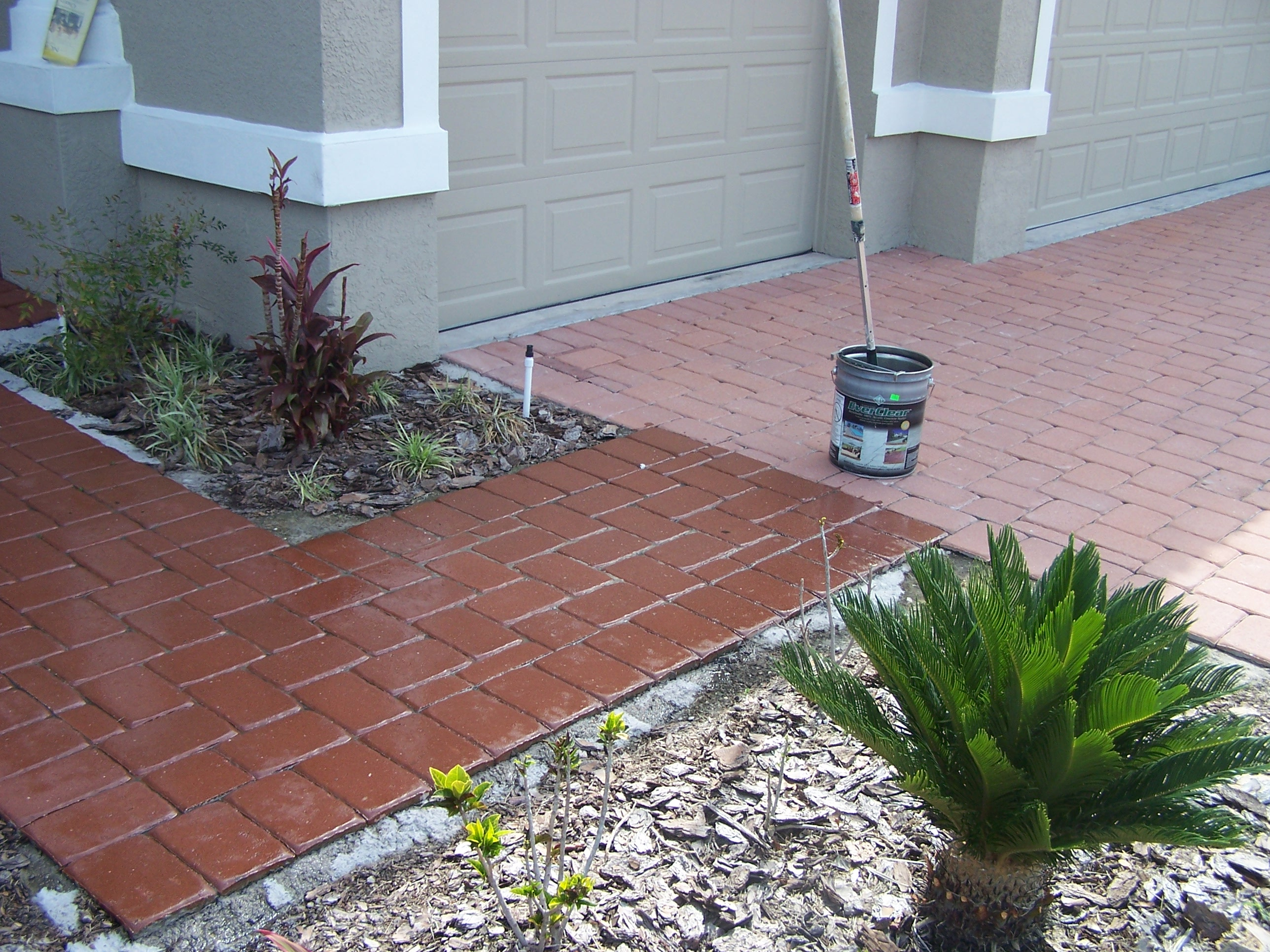 Thin Overlay Pavers Brick Paver Sealing
